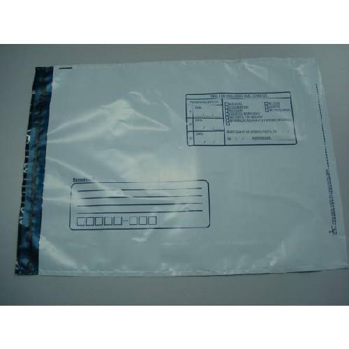 envelope personalizado de segurança